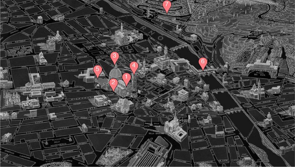 Carte Florence