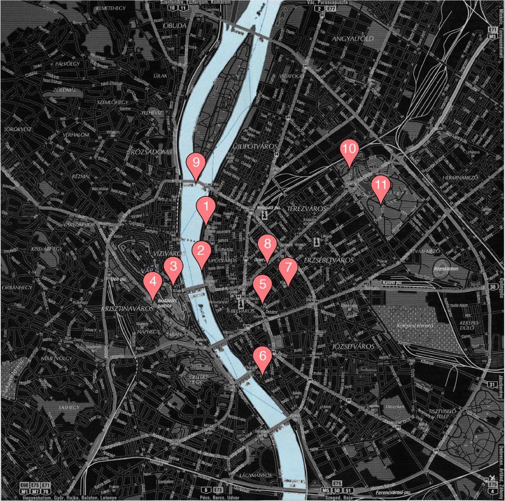 Carte Budapest