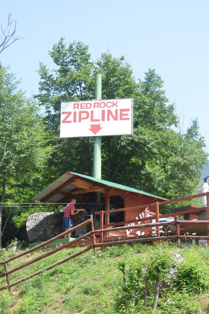 Rez zip line