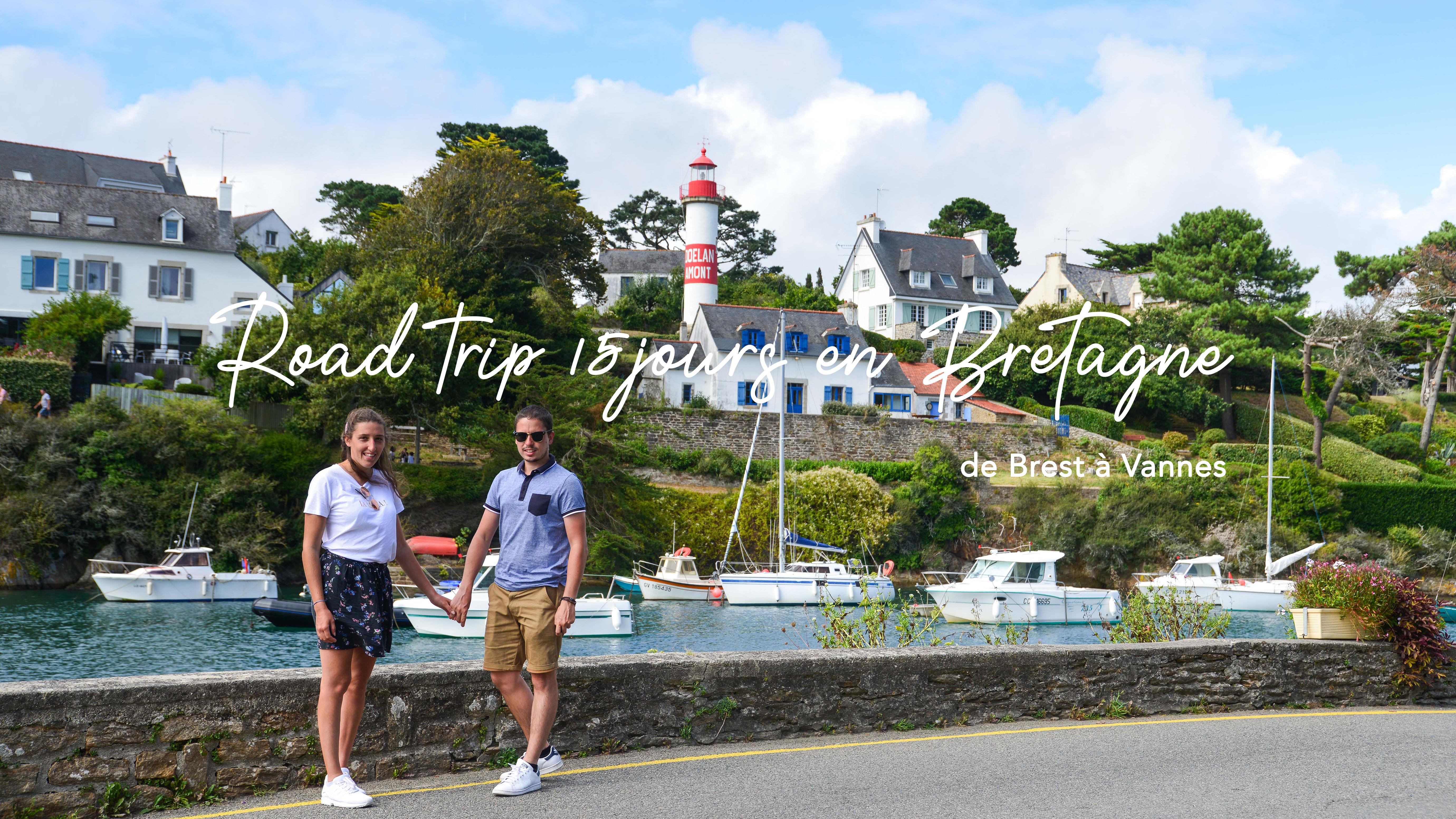 Road trip de 15 jours en Bretagne