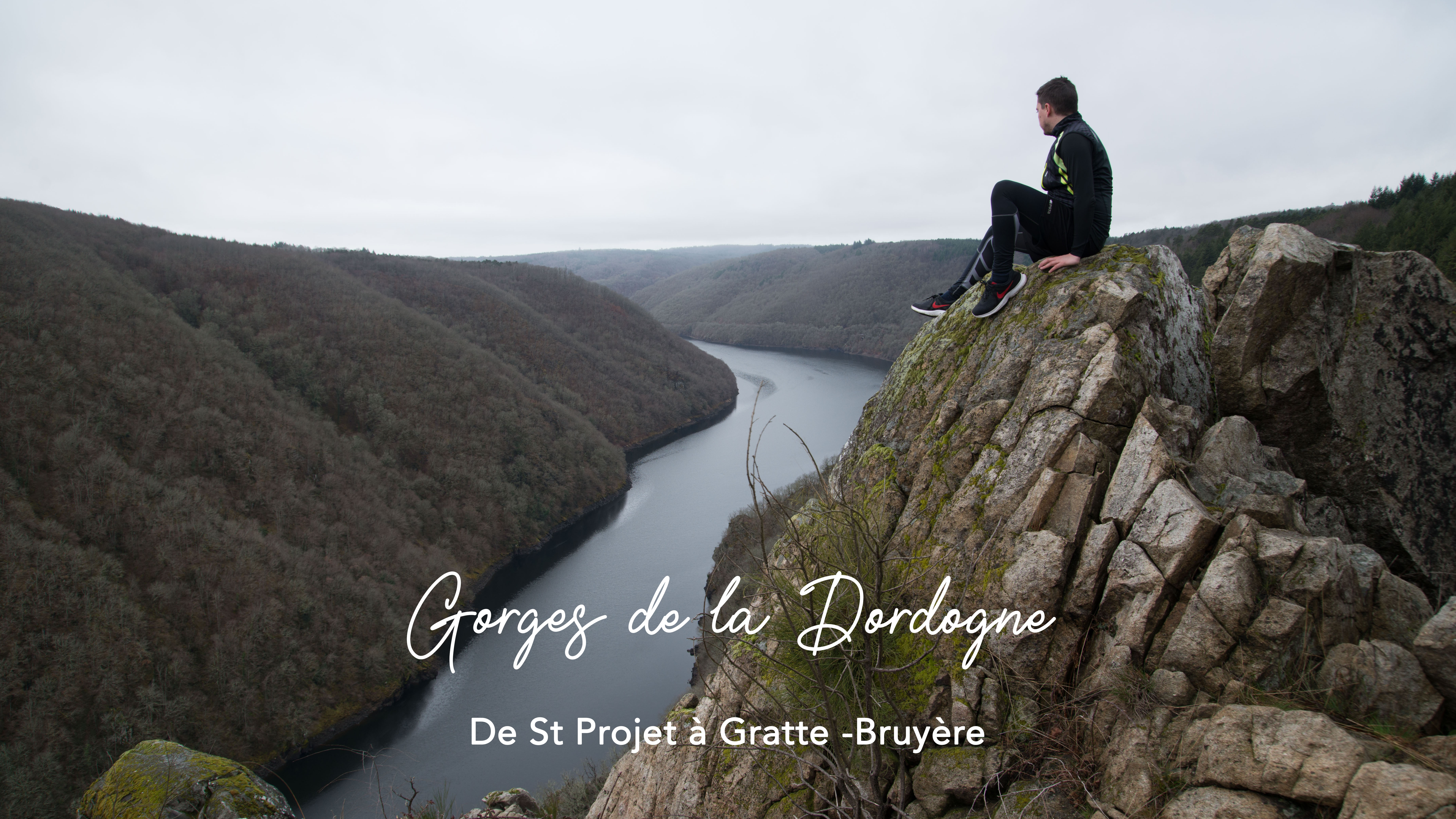 GORGES DE LA DORDOGNE : De St-Projet à Gratte-Bruyère