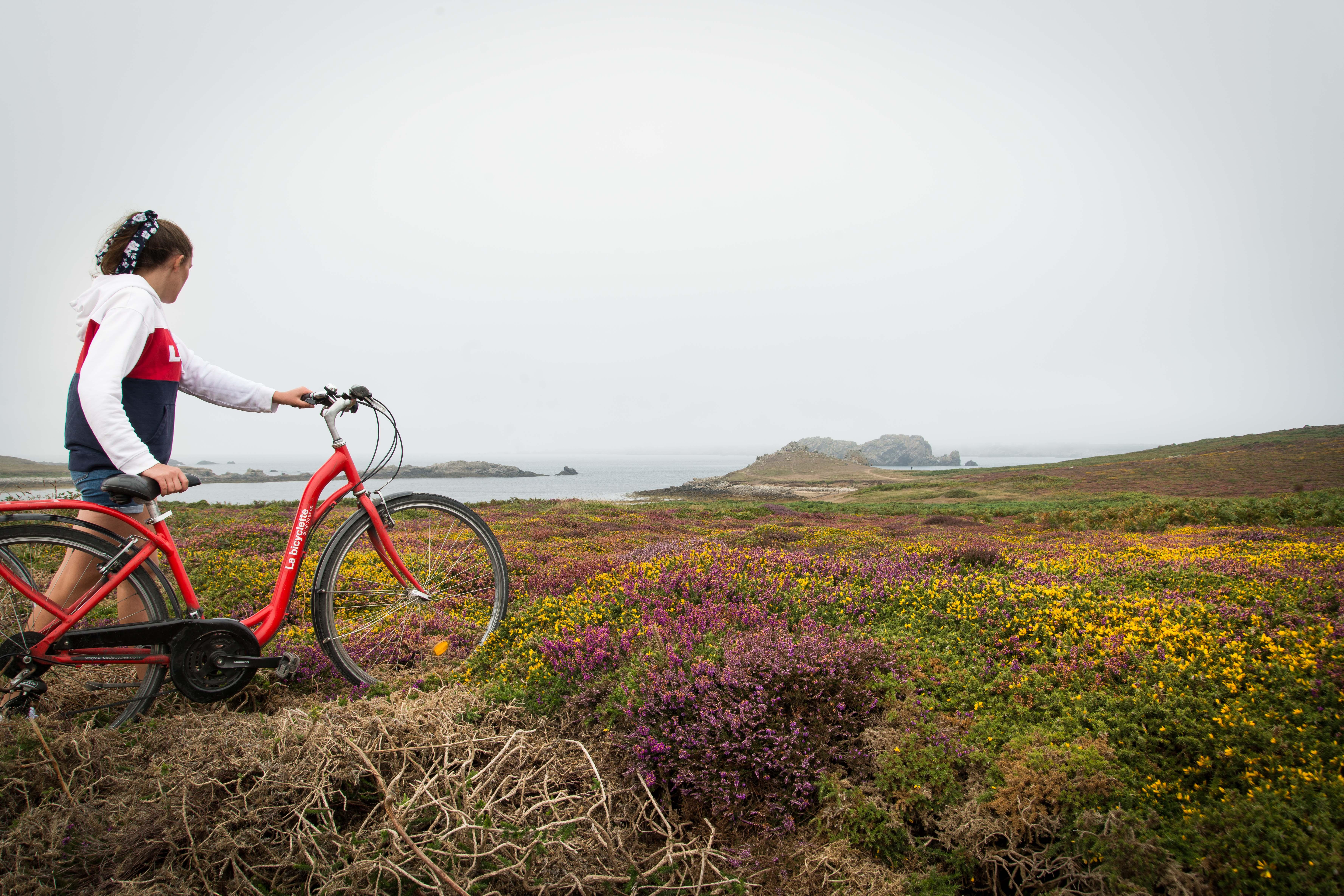 Ouessant La bicyclette
